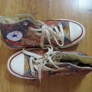 Converse Patterned High Tops - Size Womens 5.5
